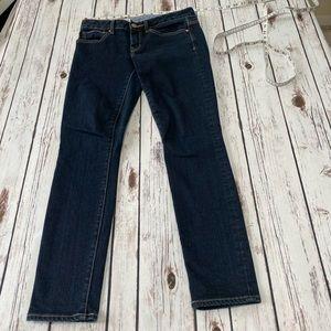 Gap 1969 jeans dark wash forever skinny 26/2p